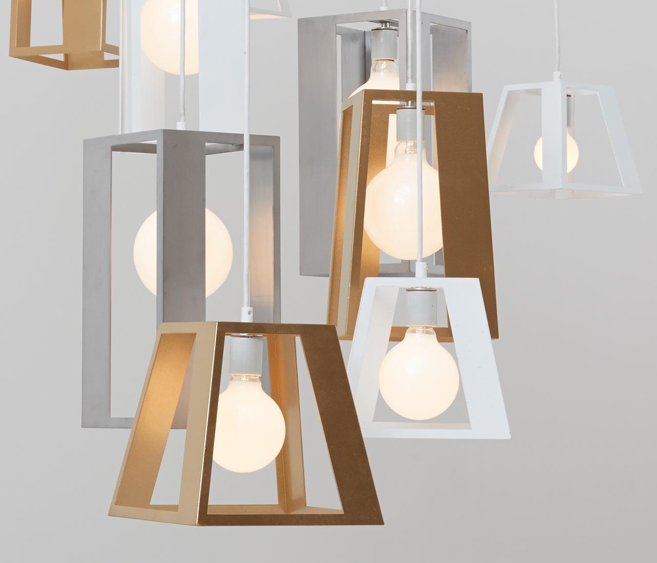Hacer lamparas de techo negocio rentable hoy - Como hacer una lampara de techo moderna ...