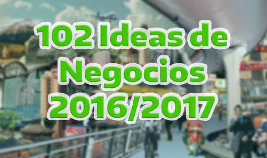 ideas de negocios para el 2016