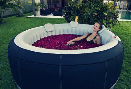 Jacuzzi inflable barato filtro para la piscina for Cuanto sale hacer una piscina de cemento