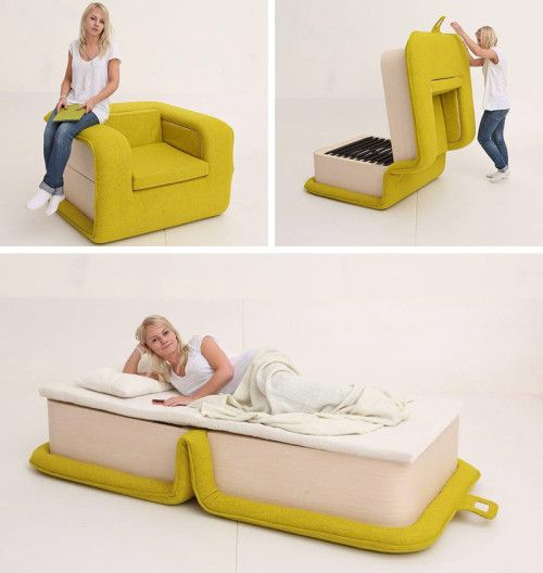 Sillon Convertible ideas innovadoras