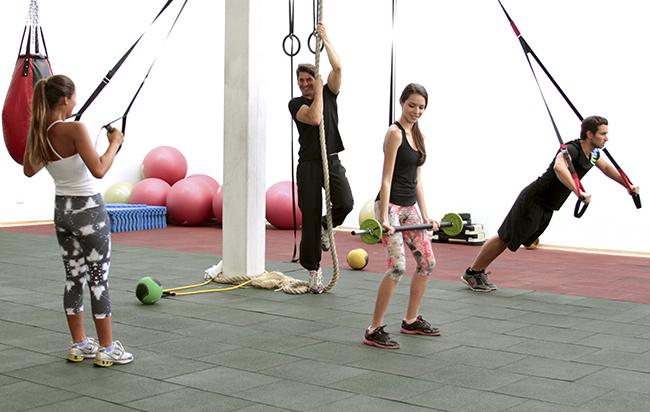 C mo montar un gimnasio de entrenamiento funcional for Entrenamiento gimnasio