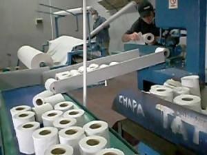 cortadora de papel higiénico