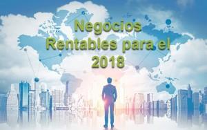negocios rentables para el 2018/2019