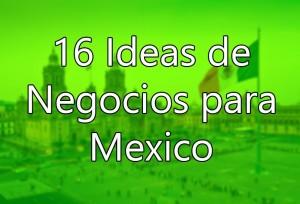negocios rentables para México