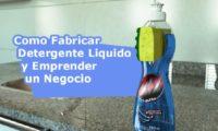Como Fabricar Detergente Liquido e Iniciar un Negocio Industial