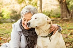 negocios anciana mascotas personas mayores