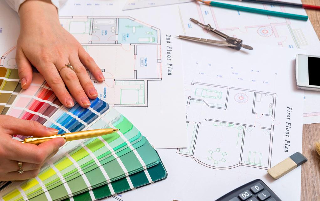 Comenzando en Una Carrera de Diseñador de Interiores