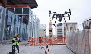 drones para construcciones